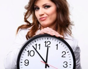 femeie-ceas