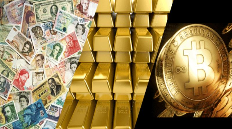 золото, валюты или биткоин